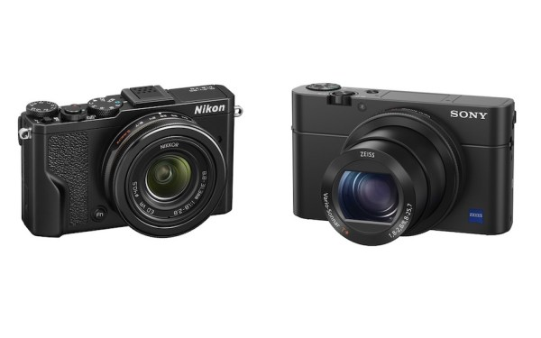Nikon DL 24-85mm f/1.8-2.8 vs Sony RX100 IV Comparison