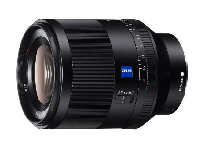 Sony FE 50mm F1.4 ZA prime lens announced