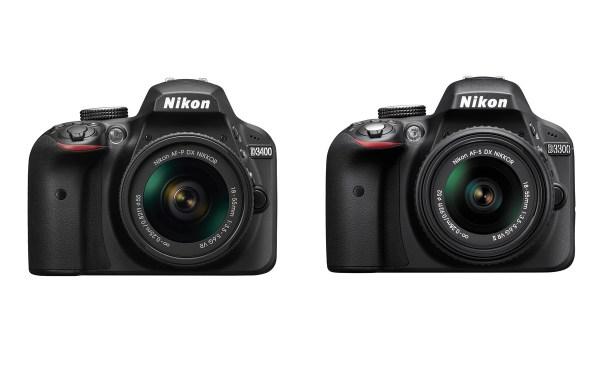 Nikon D3300 vs D3400 Comparison