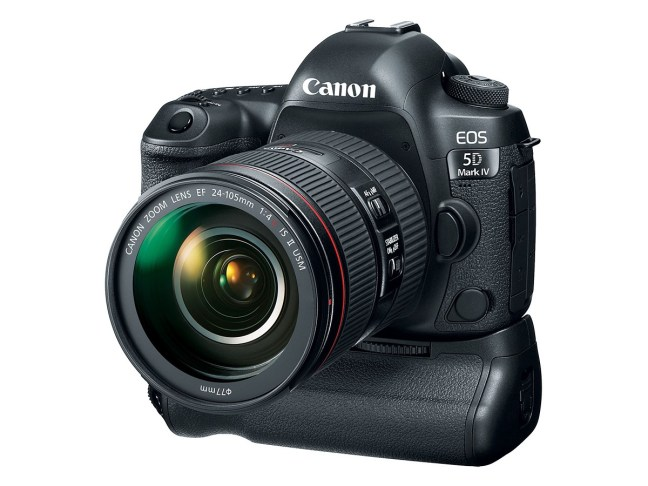 Canon EOS 5D Mark IV Firmware Update Version 1.1.2 Released
