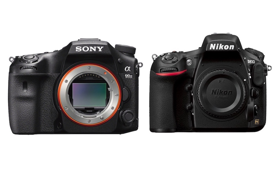 Sony A99II vs Nikon D810 Comparison