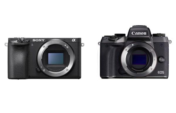 Canon EOS M5 vs Sony A6500 Comparison