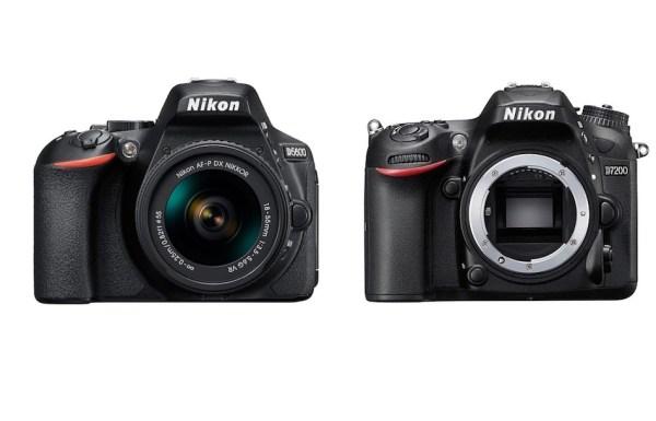 Nikon D5600 vs Nikon D7200 Comparison