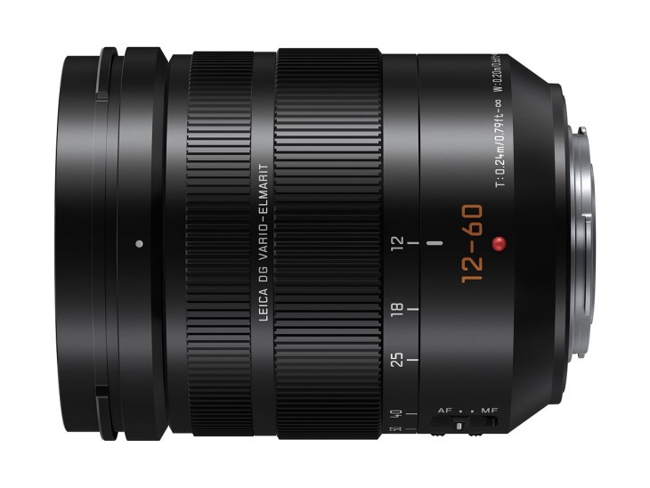 Panasonic LEICA DG 12-60mm F2.8-4.0 lens becomes official
