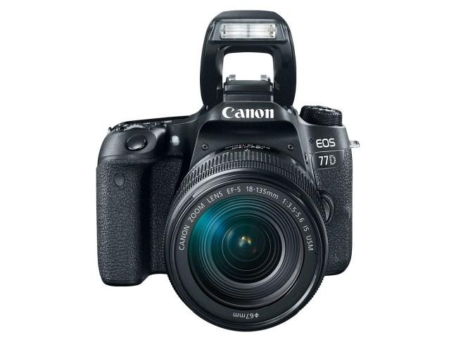 Canon EOS 77D DSLR Camera Announced