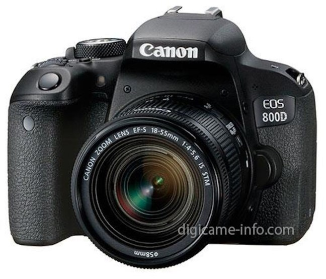 Canon EOS 77D and Rebel T7i Specifications and Images