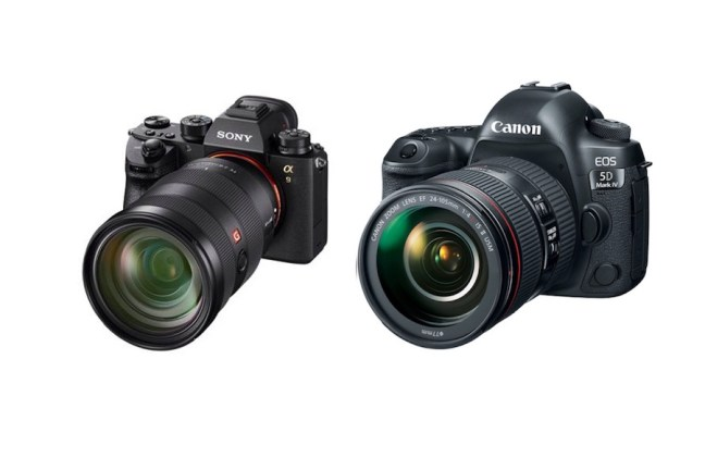 Sony A9 vs Canon 5D Mark IV - Comparison