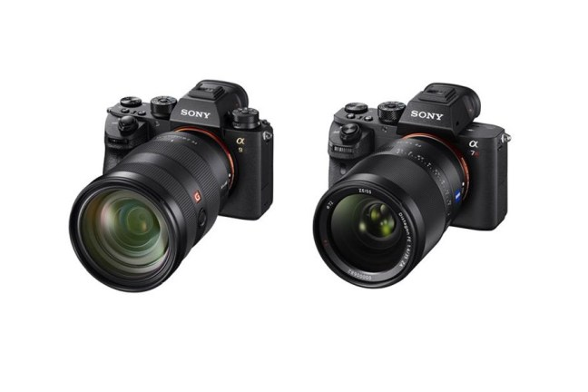 Differences between the Sony A9 vs Sony A7RII