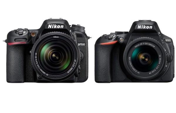Differences between Nikon D7500 vs D5600 DSLR Cameras