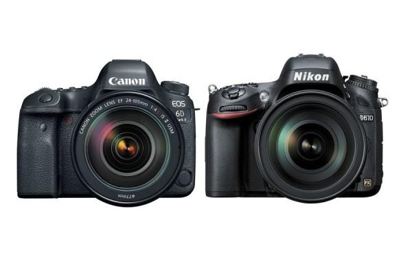 Canon 6D Mark II vs Nikon D610