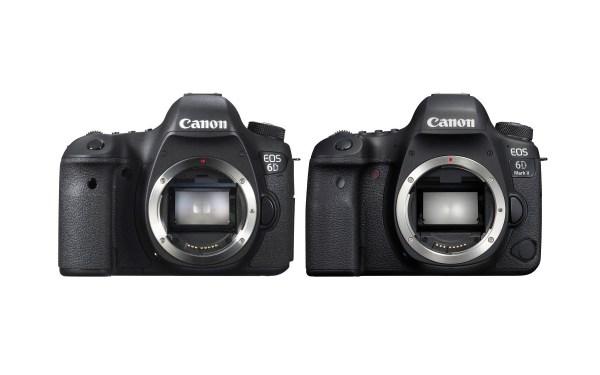 Canon EOS 6D Mark II vs EOS 6D Comparison
