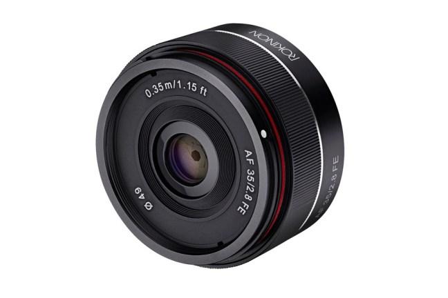 New Samyang AF 35mm f/2.8 FE lens reviews roundup