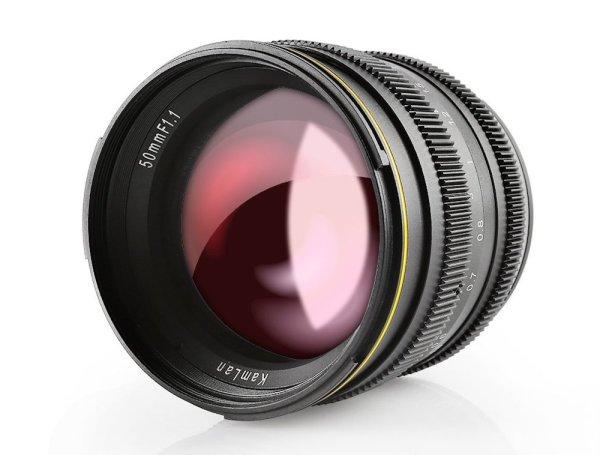 SainSonic unveils Kamlan 50mm F1.1 lens for APS-C cameras