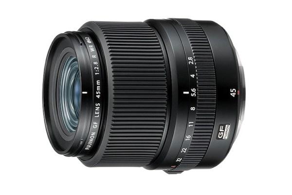 Fujifilm GF 45mm F2.8 R WR medium-format lens announced
