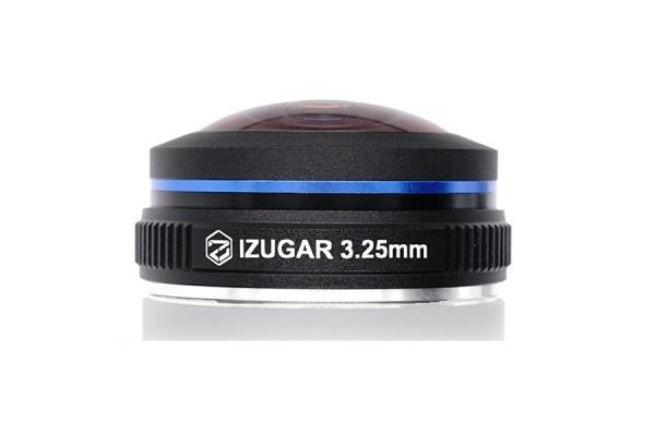 iZugar unveils 220-degree super fisheye lens for Micro Four Thirds