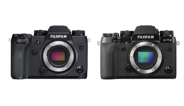 Fujifilm X-H1 vs X-T2 – Comparison