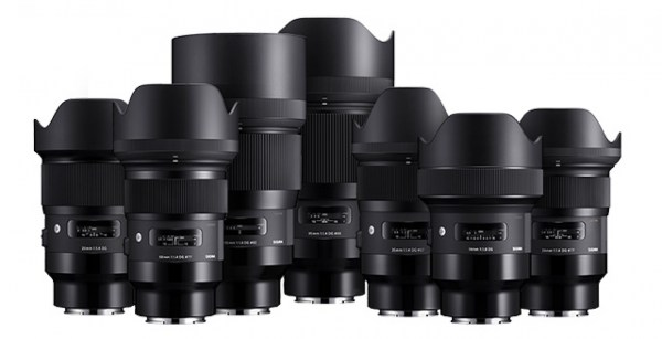 Pricing announced for the new Sigma DG HSM Art full frame E-mount lenses for Sony cameras