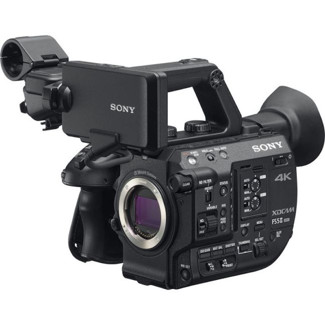 Sony FS5 Mark II E-mount Camcorder Officially Announced