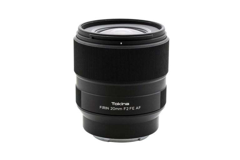 Tokina FiRIN 20mm f/2 FE AF lens firmware released
