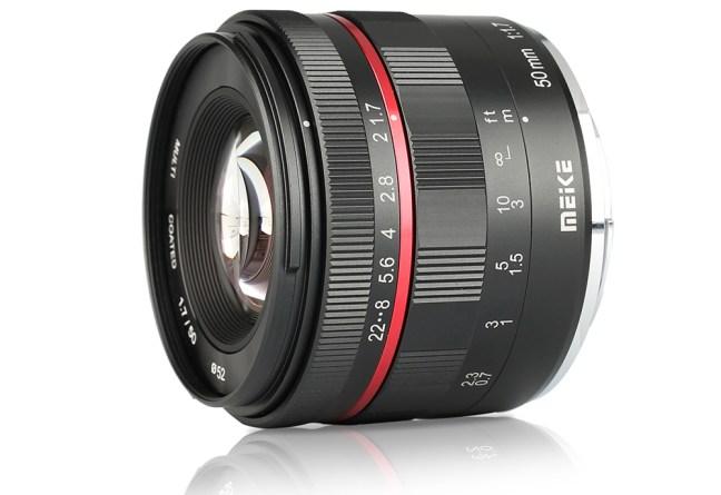Meike 50mm f/1.7 lens announced for Sony full frame E-mount