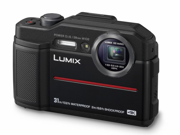 Panasonic Lumix TS7/FT7 rugged compact camera announced with a built-in EVF