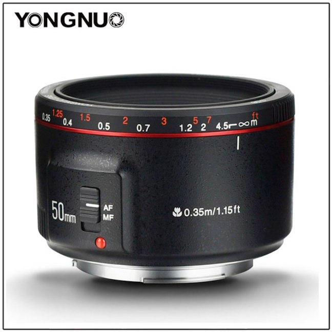 Yongnuo YN 50mm f/1.8 II Lens Officially Announced