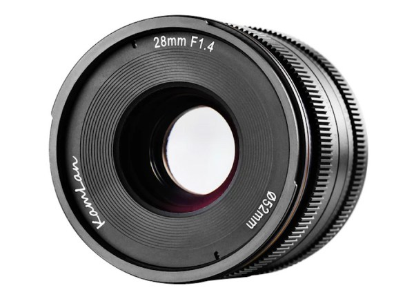 SainSonic Kamlan 28mm f/1.4 Mirrorless Lens Coming Soon