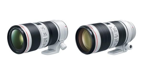 Pre-order : Canon EF 70-200mm f/2.8L IS III & 70-200mm f/4L IS II USM Lenses