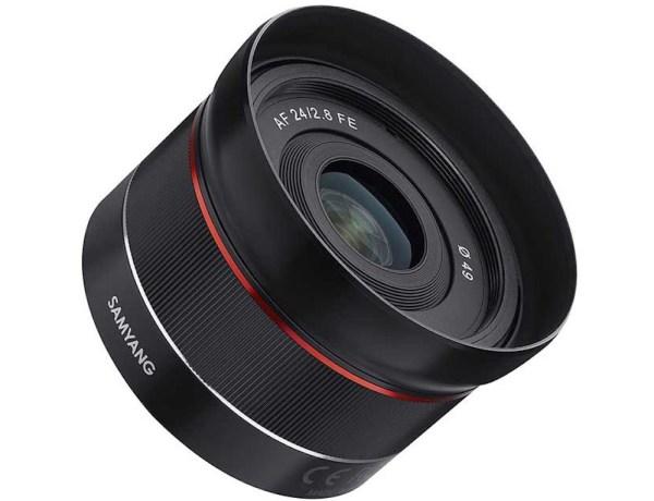 Samyang AF 24mm f/2.8 FE Lens Announced for Sony E-mount