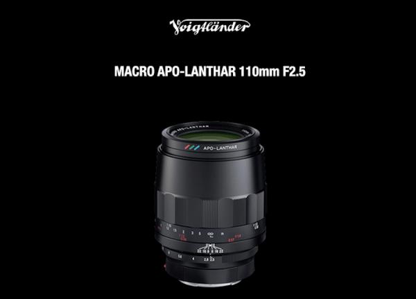 Voigtlander Macro APO Lanthar 110mm f/2.5 lens announced for Sony E-mount