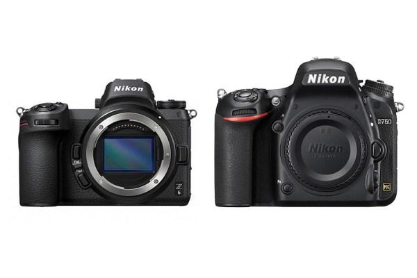 Nikon Z6 vs Nikon D750 – Comparison