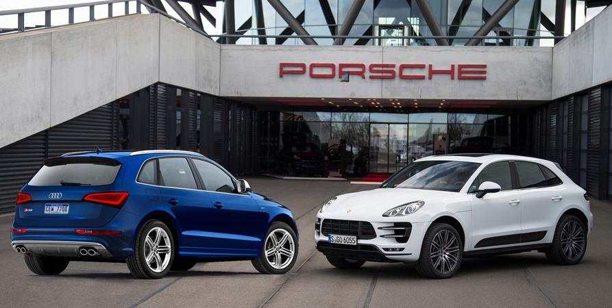 Twins Porsche Macan \u0026 The Audi Q5