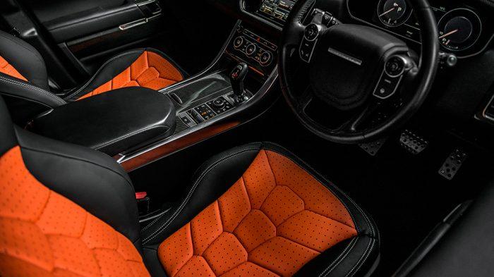 Kahn Design, Range Rover Sport SVR Pace Car, front, sports seats, dailycarblog.com