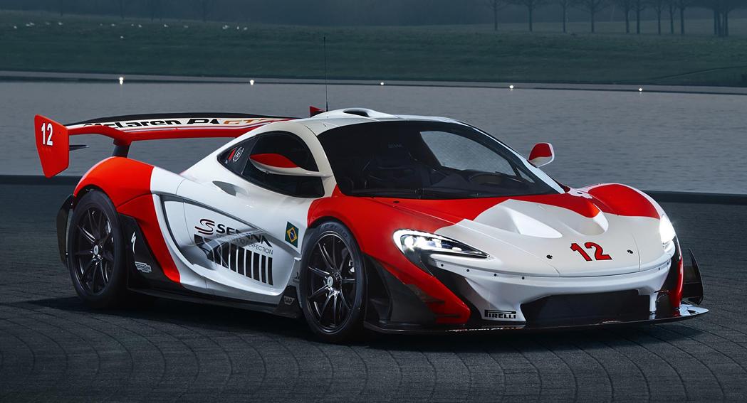 McLaren Marlboro P1 GTR, Senna tribute, front quarter view, dailycarblog.com