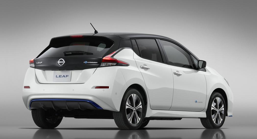 Nissan Leaf, Limited Edition, rear, Dailycarblog.com