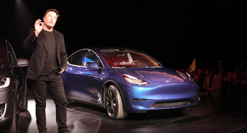 Tesla Model Y launch dailycarblog.com