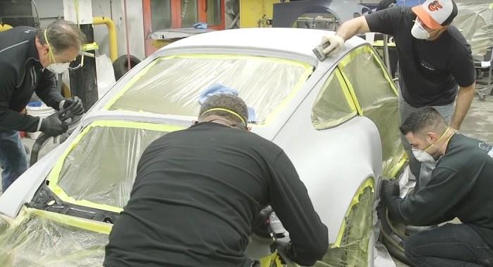 Ammo NYC Porsche 964 re-spray