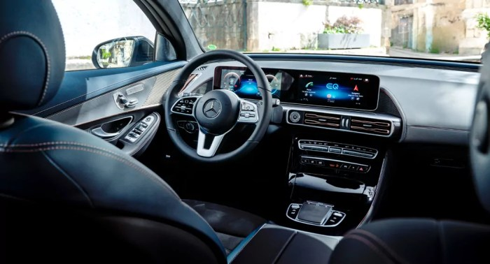 Mercedes EQC 4Matic interior