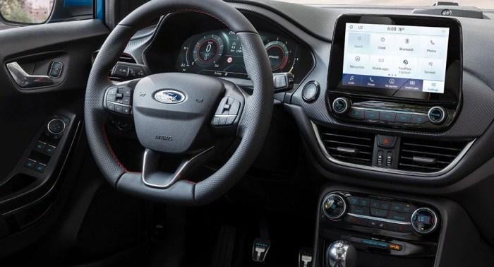 2020 Ford Puma interior dailycarblog.com