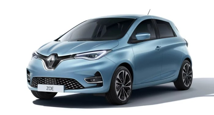 Renault Zoe E-lectric Car