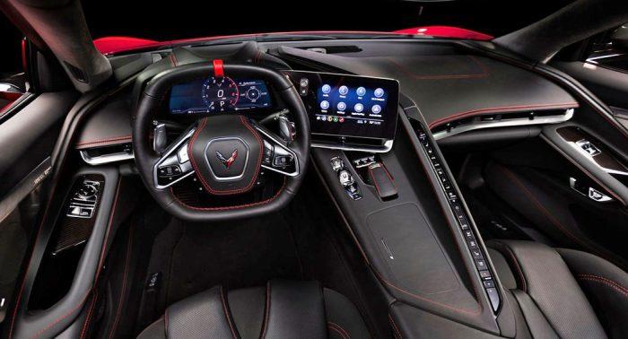 Corvette C8 interior