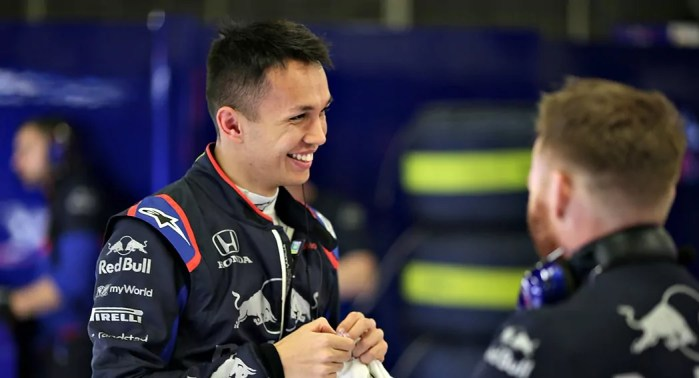 Alexander Albon Promoted To Red Bull A Squad