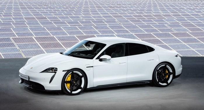 Porsche Taycan EV dreams dailycarblog.com