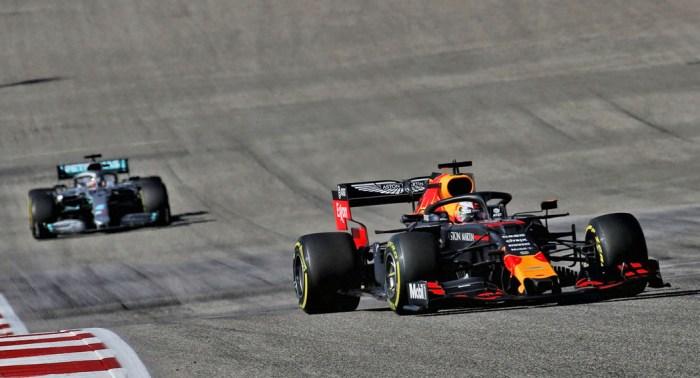 2019 United States Grand Prix, Verstappen, dailycarblog.com