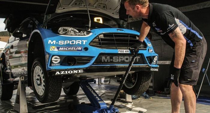 How to build a rally car, mechanic, dailycarblog.com