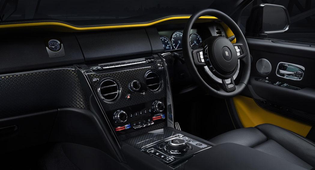 Rolls Royce Cullinan Black Bade Edition, Interior, ailycarblog.com