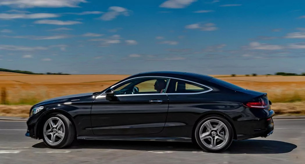 Mercedes C Coupe review 002 - 2019 Review - Dailycarblog.com