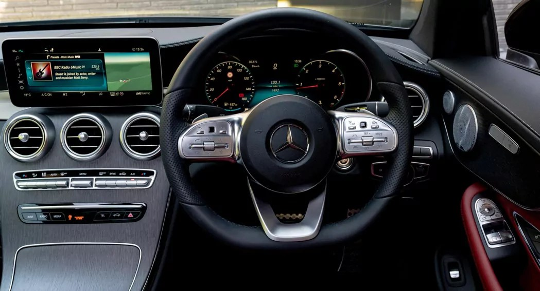 Mercedes C Coupe review 005 - 2019 Review - Dailycarblog.com