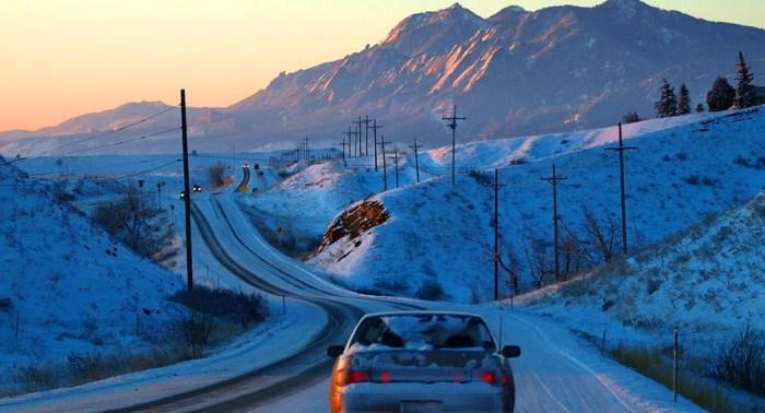 Boulder Colorado - Winter Driving - Dailycarblog.com