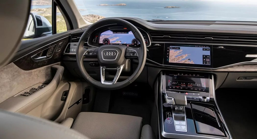 Audi Make America Great Again - 45 TFSi - Q7 - Interior - Dailycarblog.com